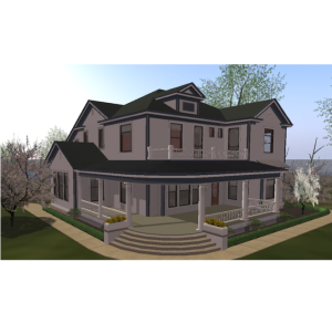The Hemingway-Pfeiffer Museum in Second Life