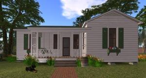 Johnny Cash Boyhood Home (Second Life)