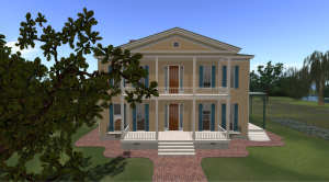 The Lakeport Plantation (Second Life)